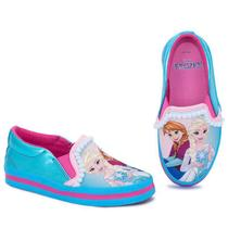 Tênis Infantil Princesa Frozen Iate Sugar Shoes - N32