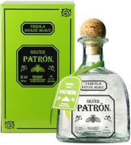 Tequila patron silver 750ml - méxico