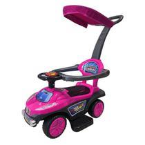 Triciclo  Passeio Infantil C/Capota Rosa Importway BW060RS