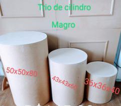 Trio de Cilindros Magro em MDF