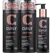 Truss Curly Shampoo + Condicionador + Curly Fix