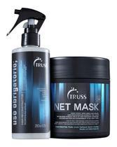Truss Uso Obrigatório + Net Máscara Reparação + Brinde
