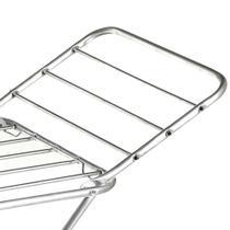Varal de chão de alumínio com abas - Alluor