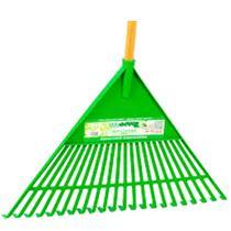 Vassoura Ancinho Plastica Verde Com Trapp  FJ 1011