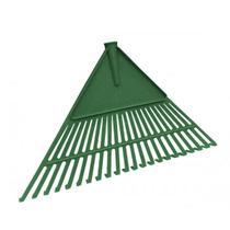 Vassoura Grama Plástica PVC Verde Jardim 50cm s Cabo Metasul