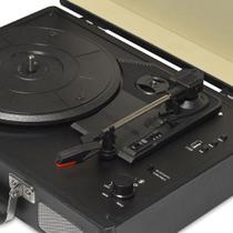 Vitrola Raveo Sonetto Chrome BT/USB/AUX preta