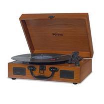 Vitrola Raveo Sonetto Wood Madeira Disco ,Usb E Bluetooth