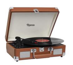 Vitrola Toca-discos Raveo Sonetto Chrome Marrom