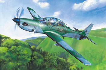 1/48 - Brazilian EMB-314 Super Tucano - Hobbyboss