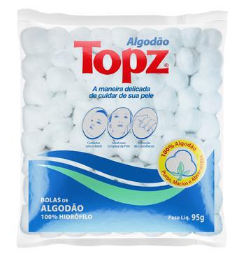 Algodão Bolas Topz 95g