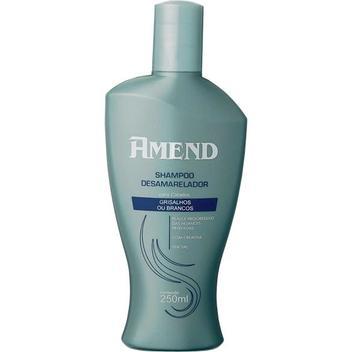 Amend Desamarelador Shampoo 250ml - Cabelos Grisalhos ou Brancos