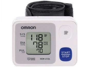 Aparelho Medidor de Pressão Arterial Digital - Esfignomanômetro Automático de Pulso Omron