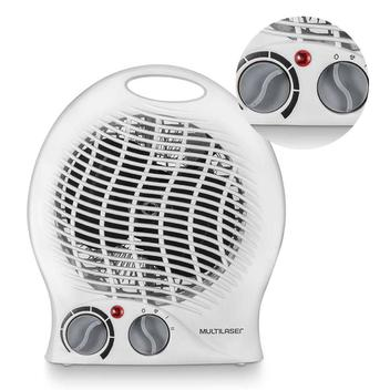 Aquecedor Ventilador Eletrico 127v Inverno Portatil 2 em 1 Frio - Braslu