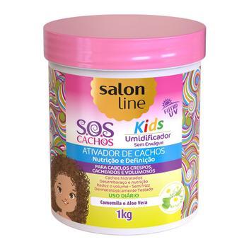 Ativador de Cachos 1Kg S.O.S Cachos Kids Salon Line - 1kg