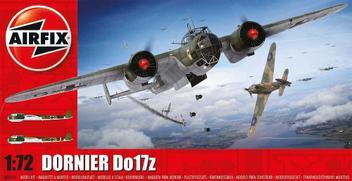 Aviao Dornier Do-17-Z 05010 - AIRFIX
