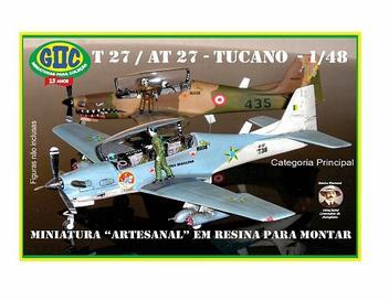 Avião Embraer T-27 / AT-27 Tucano - FAB - GIIC