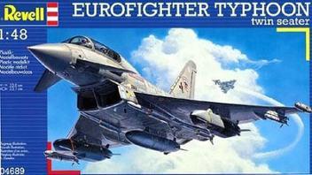 Aviao Eurofighter Typhoon Twin Seater - REVELL ALEMA