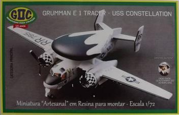 Aviao Grumman E-1 TRA-CER - USS Constellation - GIIC