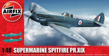 Aviao Supermarine Spitfire PR.XIX - AIRFIX - Brand