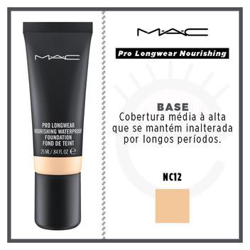 Base Fluída à Prova D'água MAC - Pro Longwear Nourishing - Mac