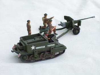 Blindado Bren Gun + Canhão anti-tanque - AIRFIX
