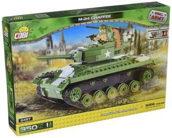 Blocos Para Montar Tanque M 24 - Cobi