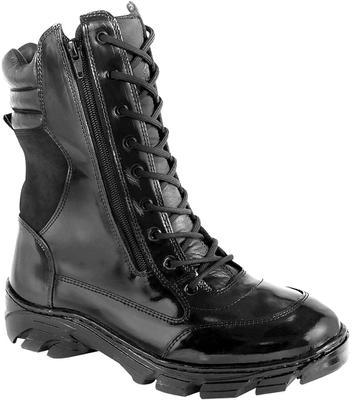 Bota Tática Militar, Coturno Duplo Ziper. - Force militar