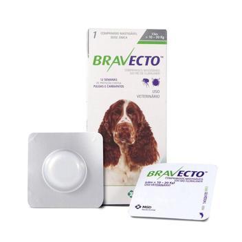 Bravecto Comprimido Para Cães De 10 A 20kg - Msd
