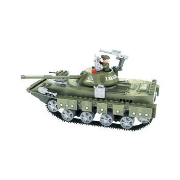 Brinquedo Tanque Exército para Montar com 213 Pcs - Playcis