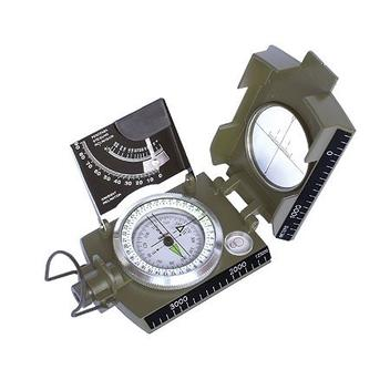 Bússola Profissional Csr Tipo Militar  Escala Métrica Graduada  Tabela para Cálculo  K-4074 41148