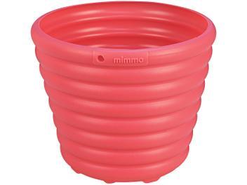 Cachepô/Vaso para Plantas 1,7L 16,2x13,5x16,2cm - Tramontina Sweet Garden Mimmo Rosa