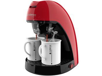 Cafeteira Elétrica Cadence Single CAF211 - Vermelha 2 Xícaras