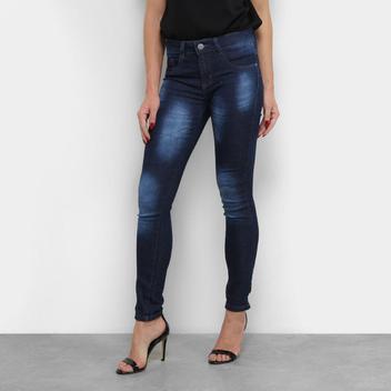 Calça Jeans Chocomenta Skinny Cintura Média