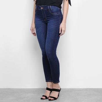 Calça Jeans Feminina Cigarrete Sawary Estonada