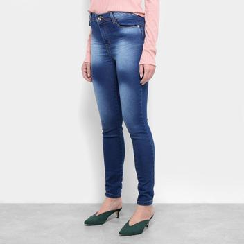 Calça Jeans Skinny Jezzian Estonada Feminina