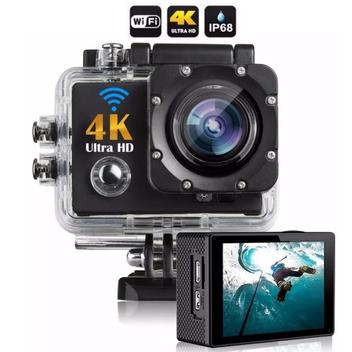 Camera Action Go Cam Pro Sport Ultra 4k Com Bastão De Selfie - China