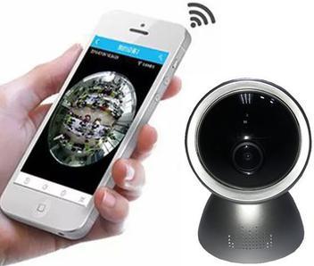 Câmera de Segurança 2MP Mesa/Parede Acesso Remoto Fisheye - Panoramic cam 360º