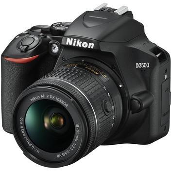 Câmera Digital Nikon D3500 DSLR com lente 18-55mm