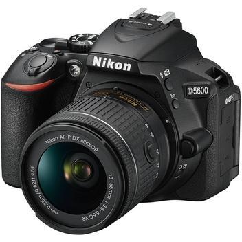 Câmera Nikon D5600 kit Lente AF-P DX 18-55mm VR