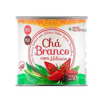 Chá Branco Com Hibisco Mais Nutrition 250g - Wvegan