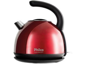 Chaleira Elétrica Philco Cozinha Classic PHC20V - Vermelha 1,7L
