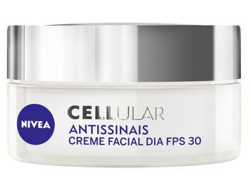 Creme Antissinais Facial Diurno Nivea Cellular - 52g
