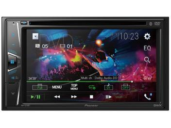 "DVD Automotivo Pioneer AVH-G218BT com Bluetooth - Tela LCD 6,2"" Touch 23 Watts RMS USB"