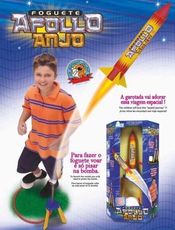 Foguete Apollo Ref. 743 - Anjo