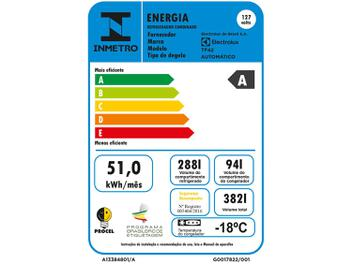 Geladeira/Refrigerador Electrolux Frost Free - Duplex Branca 382L TF42