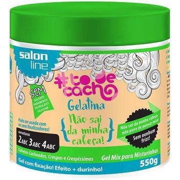 Gelatina Salon Line To De Cacho - 550g