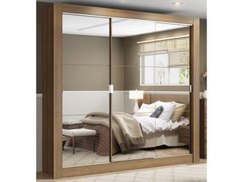 Oferta ➤ Guarda-roupa Casal 3 Portas Madesa – City 1056-3E com Espelho   . Veja essa promoção