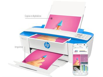 Impressora Multifuncional HP - DeskJet Ink Advantage 3776 Jato de Tinta Wi-Fi