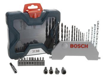 Jogo de Ferramentas Bosch 33 Peças X-Line 33 - com Maleta