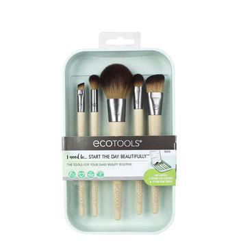 Kit Básico de Maquiagem com Estojo Ecotools
